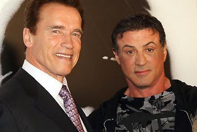 Arnold Schwarzenegger y Sylvester Stallone podrían trabajar juntos en
