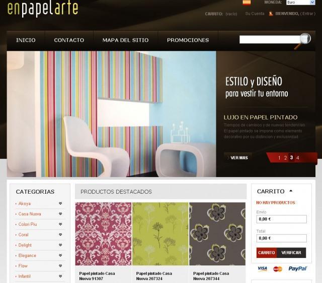 EnPapelArte, la tienda de papel pintado, estrena su blog
