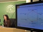 Andalucía: plantilla sistema sanitario público mujer media años