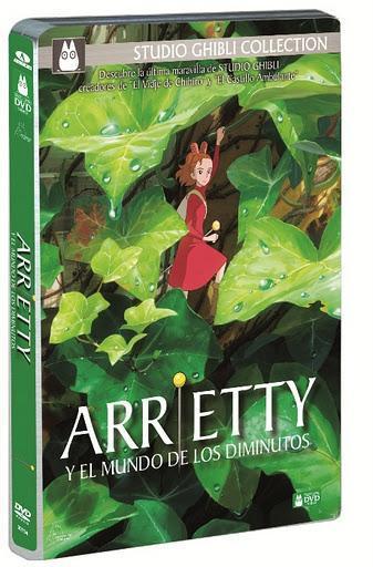 Hoy sale a la venta 'Arrietty y el mundo de los diminutos' en DVD y Blu-ray