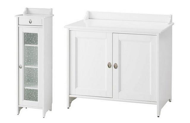 Ikea hack los armarios flaren del ba o de evilsabeth a juego con la encimera del lavabo paperblog - Armario lavabo ikea ...