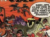 Tinta Secuencial (27): Mortadelo Filemón: Dinosaurios, Jurassic Park andar casa