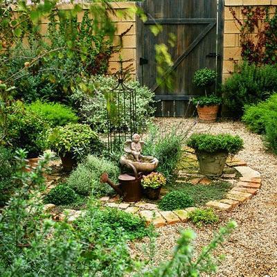 Los ultimos jardines rusticos paperblog Decoracion de jardines pequenos rusticos