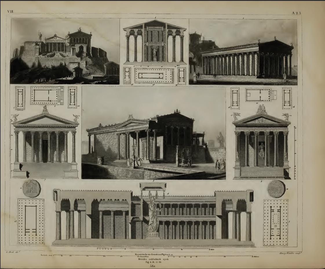 la historia de la arquitectura: