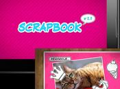 Art: nuevo tema disponible Scrapbook para BlackBerry PlayBook