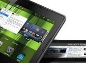 Renovación Blackberry vista. aproximan Playbook