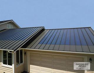 Panel Solar Fotovoltaico Integrado En La Cubierta