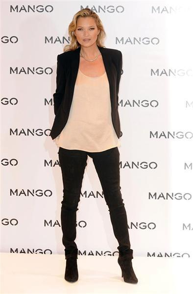 Kate Moss en la Campaña primavera verano 2012 de Mango