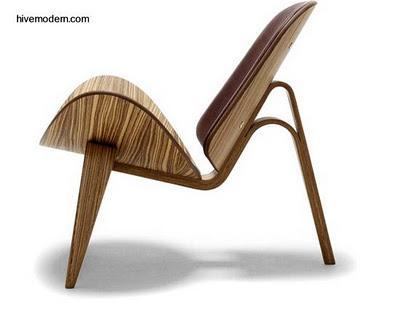 Sillas modernas de madera dise o dan s paperblog Sillas de diseno moderno