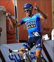 Alberto Contador vuelve ganar