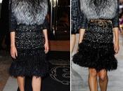 Diane Kruger Giambattista Vali Couture. Plumas, lentejuelas, pieles... ¿Sabe llevarlo estilo?
