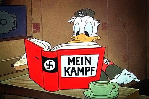 Walt Disney contra los nazis