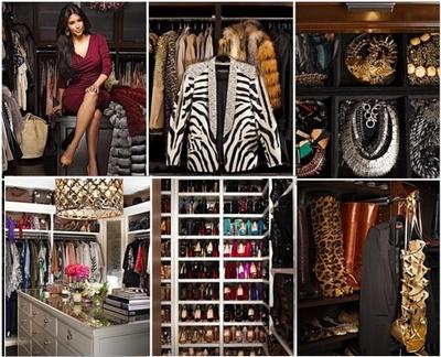 EL Top 10 de los mejores Closets de las Famosas mas Glamurosas