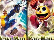 Mega Pac-Man estarán Street Fighter Tekken