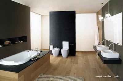 Diseños de baños para casas.
