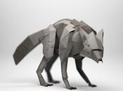 Excelentes esculturas papel inspiradas animales Origami