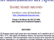 Conferencia Amazings: matemáticas Apolo