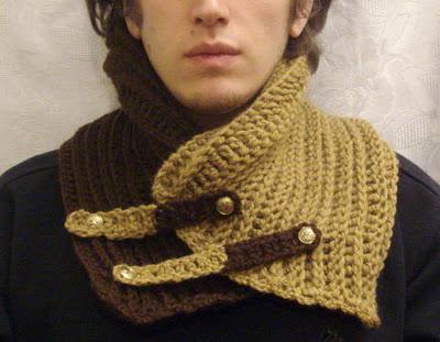 Cuellos tejidos para hombres