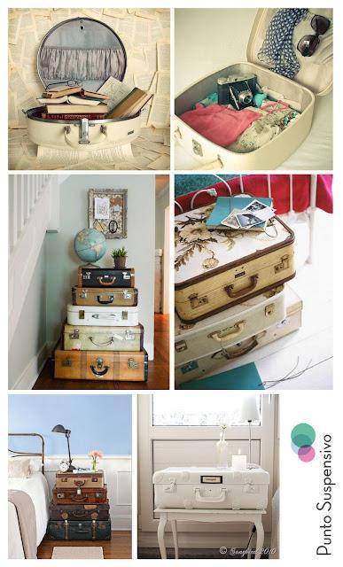 Decora tu casa con maletas vintage by punto suspensivo - Decora tu casa juegos ...