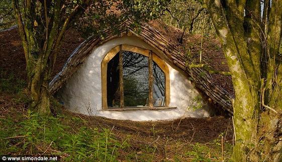 Casa Hobbit de Simon Dale