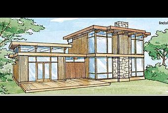 Modernas casas de madera prefabricadas modulares paperblog - Casas de madera modulares ...