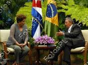 Raúl Castro Dilma Rousseff: reunión firma acuerdos cubanobrasileños galerías imágenes]