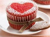 Cupcakes Veltet Corazón