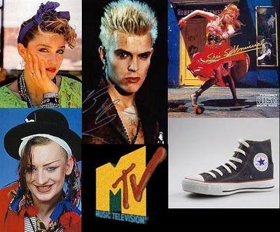 Moda retro Moda de los 80