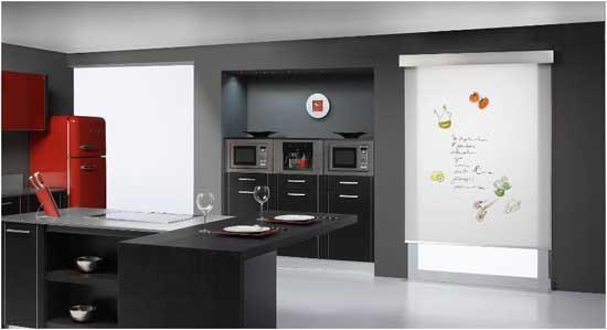 Cortinas para recamaras modernas enrollables pictures - Cortina cocina moderna ...