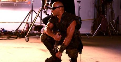 Vin Diesel presume de Riddick