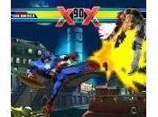 Arte, pantallas vídeo Ultimate Marvel Capcom para Vita