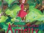 Edición americana libros arte Arrietty