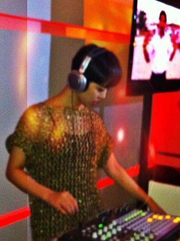 Dj Eiko se presentó en Hotel W México City