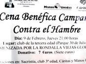 Pilar Horadada. Cena Benéfica Campaña contra Hambre 2012