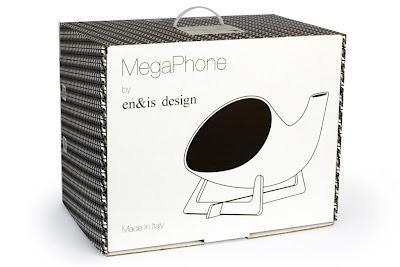 Un Megáfono para que escuches a todo volumen tu música con tu iPhone