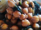 Cocina Creativa Vegana: Cardos garbanzos espinacas (fantástica receta invierno)