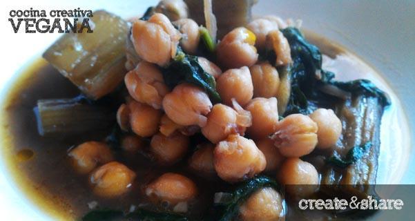 cocina-creativa-vegana-cardos-espinacas-garbanzos