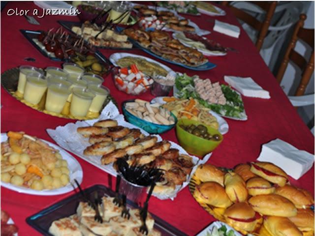 Ideas de picoteo para cumplea os y otras fiestas paperblog - Cena de picoteo en casa ...