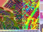 Cartografía solar urbana principales ciudades españolas