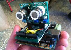 Open air quality sensor network / Red de control de la calidad del aire autoconstruida!