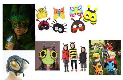 Starting from Scratch V. The Costumes: capes and masks