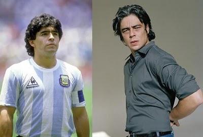 Benicio del Toro estudia dar vida a Maradona