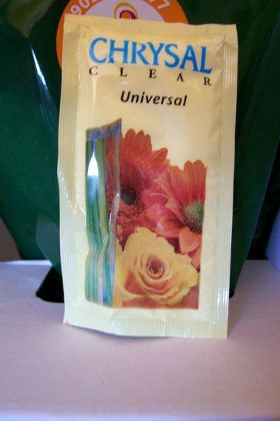 conservante floral para ramos de flores en agua