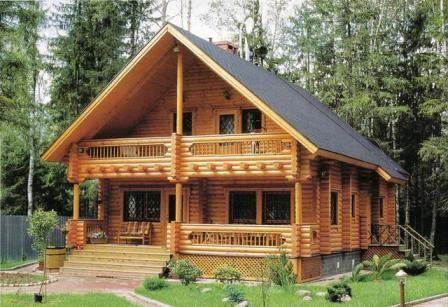 Hazte una casa de madera paperblog - Vivir en una casa de madera ...