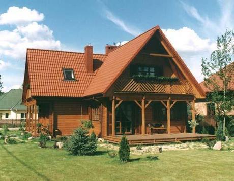 Hazte una casa de madera paperblog - Casas de madera para vivir ...
