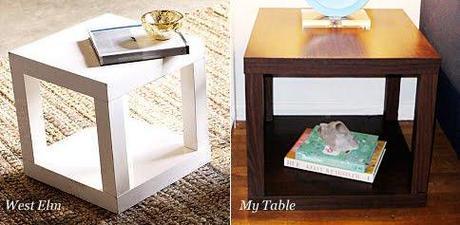 Ikea hack: Mesa lack = Mesa Cubo