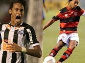 Noche contrastes para Neymar Ronaldinho
