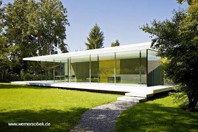 Casa en alemania arquitectura minimalista paperblog for Arquitectura de casas modernas de una planta