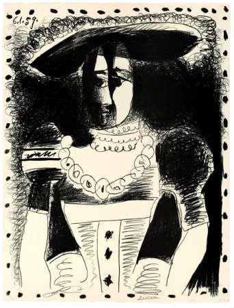 Pablo Picasso 'Noble dama'.