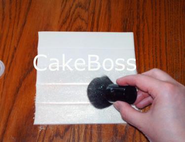 cepillar el polvo
